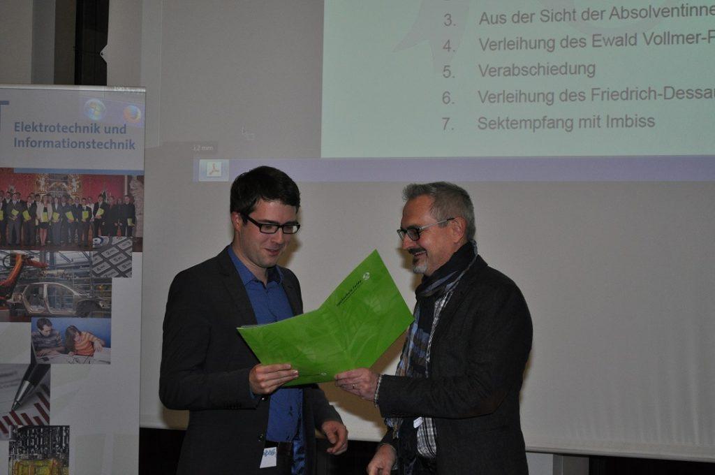 Ewald-Vollmer-Preis Hochschule Fulda