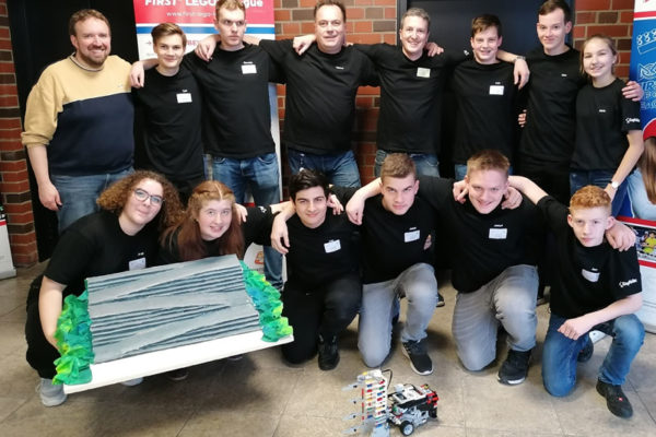 """First Lego Leage – """"Wigbots"""" beim Halbfinale in Mannheim"""
